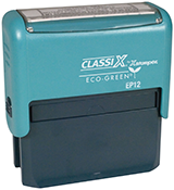 "EP12 - ClassiX ECO Self-Inking Message Stamp<br>5/8"" x 2-5/16"""