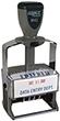 "M42 - M42 - ClassiX Self-Inking Steel Date Stamp<br>1"" x 2-1/4"""