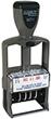 "M71 - M71 - ClassiX Self-Inking Plastic Date Stamp<br>1-1/8"" x 1-5/8"""