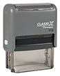 """P08 - P08 - ClassiX Self-Inking Message Stamp<br>3/4"""" x 1-7/8"""""""