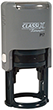 "P17 - P17 - Self-Inking Round Stamp<br>1-1/8"" Diameter"
