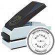 """E17-753 - E17-753<br>Plastic Desk Embosser<br>1-1/2"""" Diameter"""