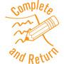 "35622 - 35622 'Complete and Return' 7/8"" Diameter"
