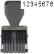 40204 - Number Stamp Size: 1 / 8-Band Traditional