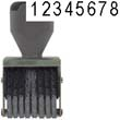 40205 - Number Stamp Size: 2 / 8-Band Traditional