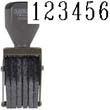 40206 - Number Stamp Size:2.5 /6-Band Traditional