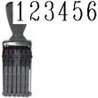 40207 - Number Stamp Size: 3 / 6-Band Traditional