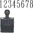 40209 - Number Stamp Size: 4 / 8-Band Traditional