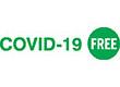 "7034 - 7034 COVID-19 FREE 1/2"" x 1-5/8"""