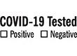 "7039 - 7039 COVID-19 Tested 1/2"" x 1-5/8"""