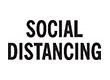 "7040 - 7040 SOCIAL DISTANCING 1/2"" x 1-5/8"""