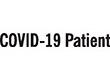 """7042 - 7042 COVID-19 Patient 1/2"""" x 1-5/8"""""""