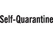 "7044 - 7044 Self-Quarantine 1/2"" x 1-5/8"""