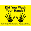 """79003 - 79003 Did You Wash Your Hands? 12"""" x 18"""""""