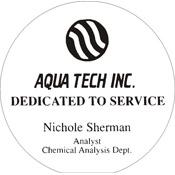 "A70-8051 - A70-8051 Infinity Acrylic Award 4"" Diameter"