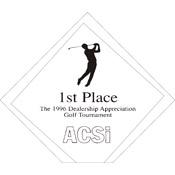"A72-8052 - A72-8052 Diamond Jewel Acrylic Award 4-1/2"" x 5-1/8"""