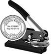 """E11-816 - E11-816<br>Pocket Embosser<br>1-1/2"""" Diameter"""