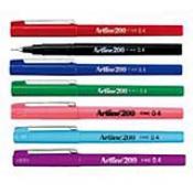 "EK-200D - Color ""Sign"" Pens 0.4mm Fine Sold by the Dozen"