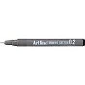 32102 - Drawing Pens 0.2mm Sold by the Dozen EK-232