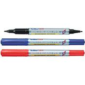 EK-541TD - Twin Nib 0.4/1.mm Bullet Whiteboard Pens Sold by the Dozen