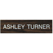 "K06 - K06 - ""Name Plate Only""<br>3"" x 12"""