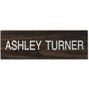 "K07 - K07 - ""Name Plate Only""<br>4"" x 12"""