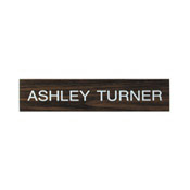 """K08 - K08 - """"Name Plate Only""""<br>1-1/2"""" x 8"""""""