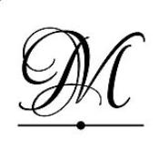 """N53-MG16 - N53-MG16 Monogram Address Stamp 1-9/16"""" Diameter"""