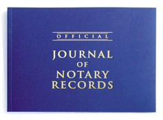 45500<br>Notary Journal<br>141 Page Book