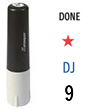 "F06 - F06 - Industrial Inspection Stamp<br>1/4"" Diameter"